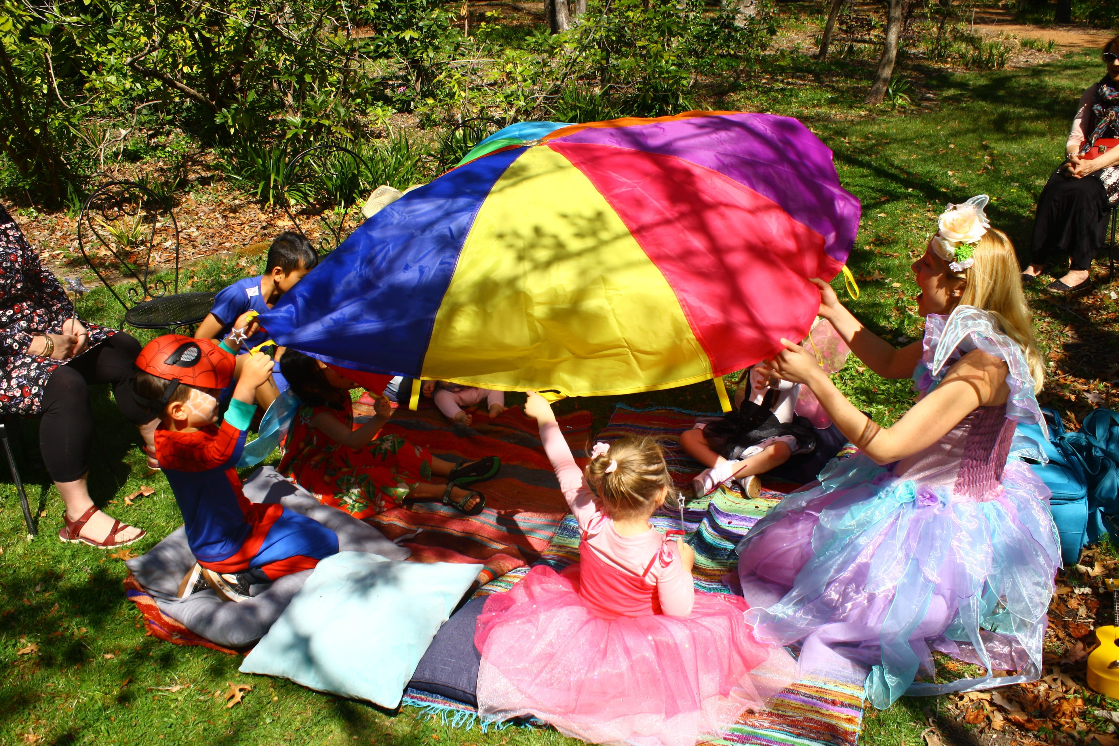 Kids children's party entertainers canberra queanbeyan