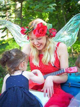 fairy party, music party, canberra kids