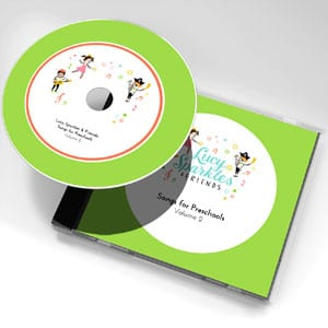 Lucy Sparkles & Friends: Songs for preschools - Volume 2
