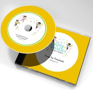 Lucy Sparkles & Friends: Songs for preschools - Volume 4
